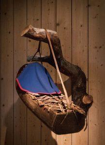 KOMSEN: som ble brukt av familien Renberg er lånt inn fra Rana museum.FOTO: Jens-A. Remmen Wiken/Helgeland museum