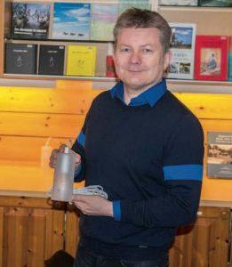 Lars Magne Andreassen, direktør ved Árran lulesamiske senter. Foto: Kjell Fredriksen
