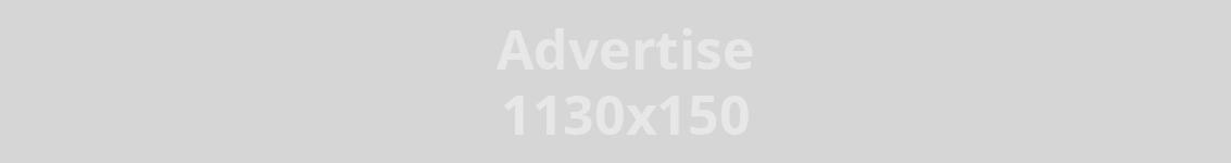 Annonse 1130 x 150 px, kr. 4000,- pr måned