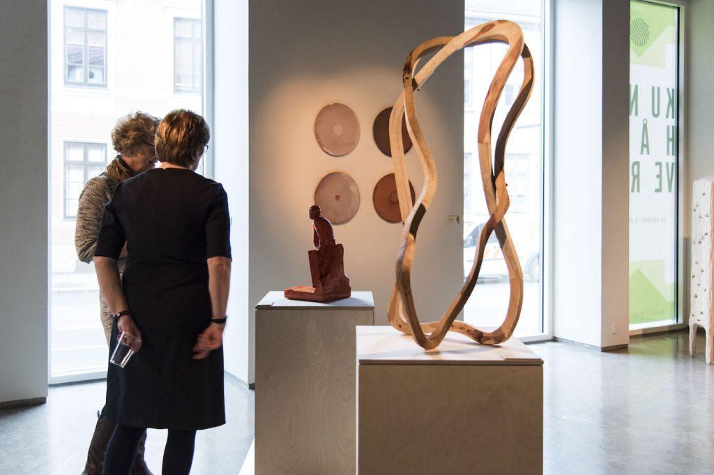 ÅRSUTSTILLINGEN for norsk kunsthåndverk 2017 på Nordenfjeldske kunstindustrimuseum. FOTO: SUSANN JAMTØY