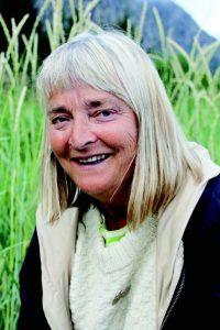 ILDSJEL: Inga Elisabeth Næss, ildsjel, forfatter, kulturformidler og pioner. Foto: Anne Eriksdatter Bye