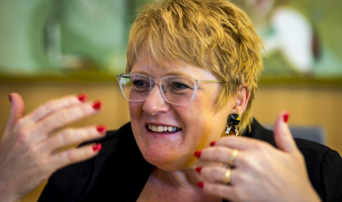 MÅ TAS PÅ ALVOR: Formidlig og kvalitet for barn og unge er temaet kulturministeren ønsker å snakke med Museumsnytt om. Hun mener det er på høy tid at vi tar kulturuttrykk og kulturformidling for barn på alvor. Foto: Thomas Johannessen.