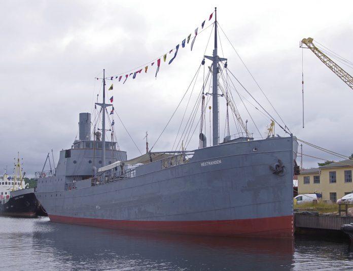 HELDIG: Hestmanden fikk ry som et særdeles heldig skip under første verdenskrig.Foto: Arve Lindvig/Vest-Agder-museet
