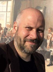 André Larsen Avelin eridéhistoriker og prosjektkoordinator for Eidsvoll 1814