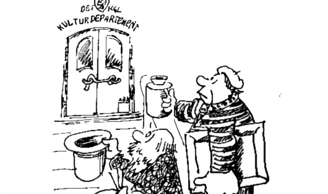 Kven får pengane – og kvifor? Illustrasjon: Geir Helgen