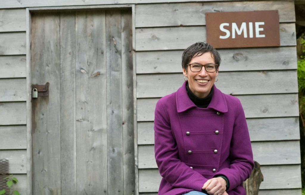 Bente Aster, kulturarvskoordinator i Kulturtanken, kommenterer utspillet til museumspedagog Ranveig Nordbryhn om kulturarv i DKS. Foto: Lars Opstad/Kulturtanken