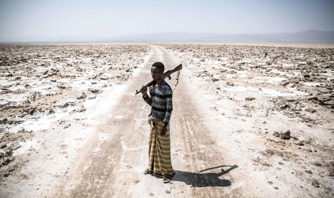 Fra Danakil, nordøst i Etiopia. Foto: Finbarr O'Reilly for Nobels Fredssenter