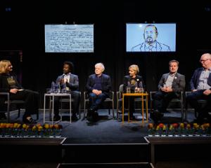 Paneldiskusjon om årets tildeling. Foto: Nobels Fredssenter