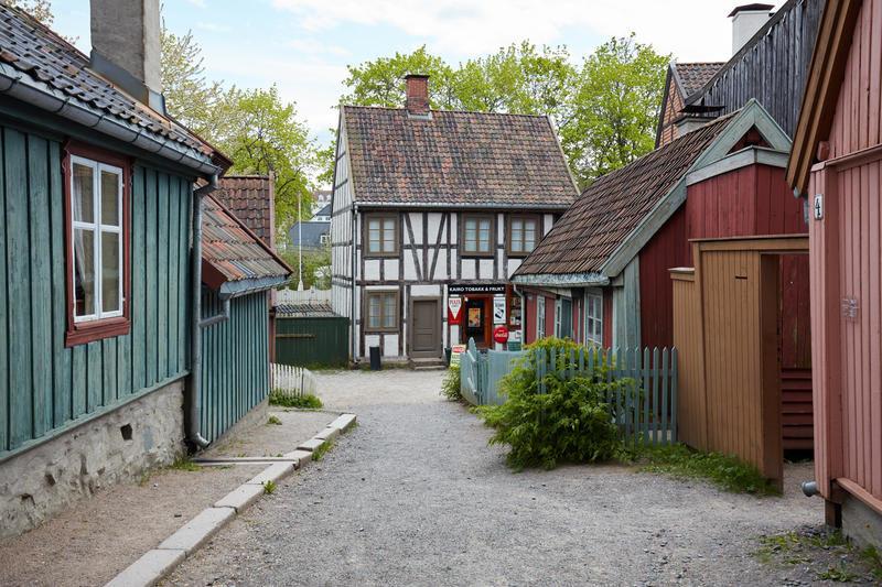 Bilde fra Enerhaugen-avdelingen på Norsk Folkemuseum