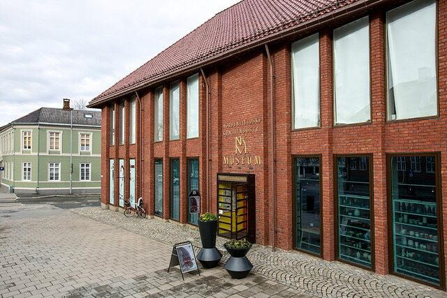 Nordenfjeldske kunstindustrimuseum - bygningen - eksteriør